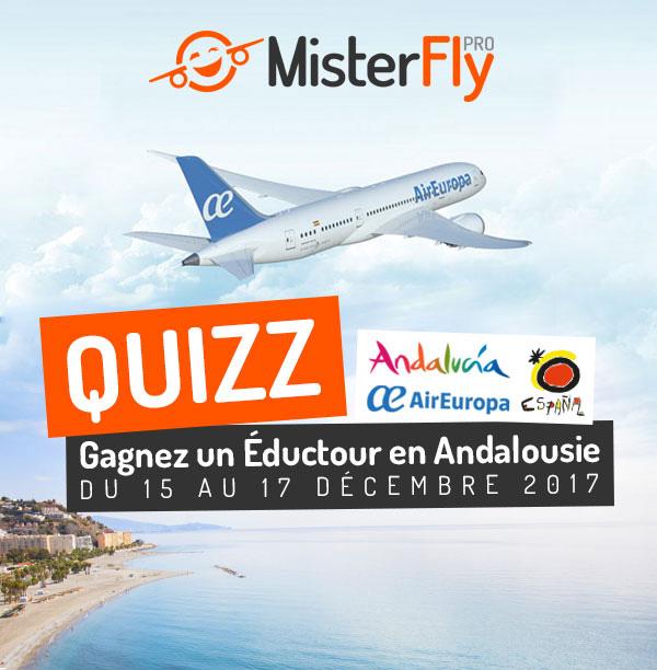 Gagnez un Eductour en Andalousie