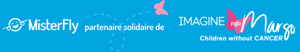 MisterFly partenaire solidaire de Imagine For Margo