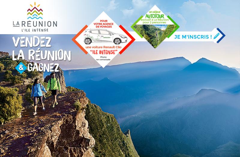 Vendez l'Ile de la Réunion & gagnez