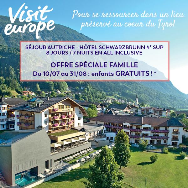Offre spéciale famille en Autriche