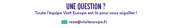 Contactez-nous : resa@visiteurope.fr