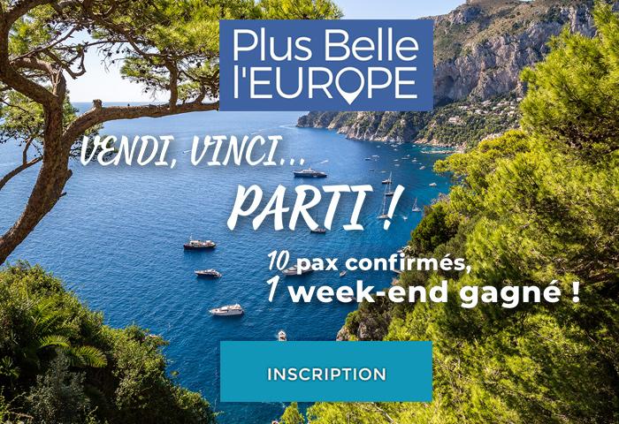 Vendez l'Europe avec Plus Belle l'Europe et gagnez un week end pour deux à Rome ou Venise