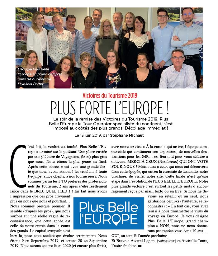 Plus Belle l'Europe