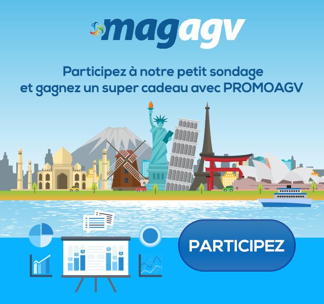 MAGAGV : Participez à notre petit sondage et gagnez un super cadeau avec PROMOAGV